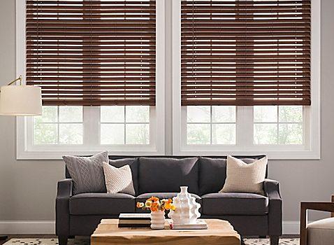 Aluminum or Wood Horizontal Shutters