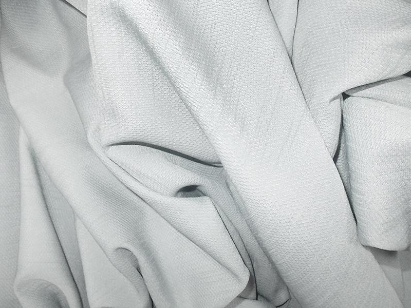 Gray drapery