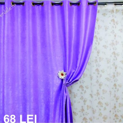 Draperie blackout lila