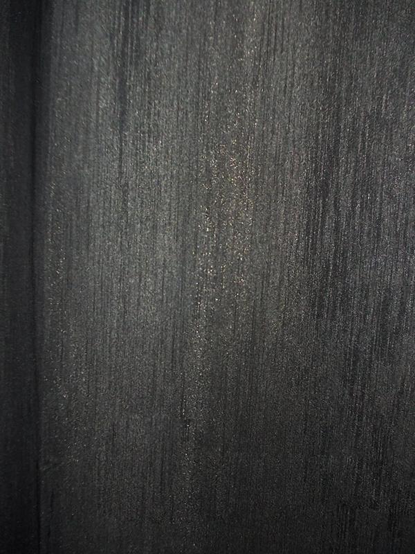 Draperie atlas negru