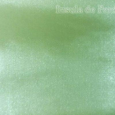Draperie atlas  lucios  vernil