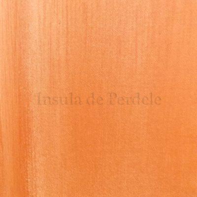 Draperie atlas   portocaliu