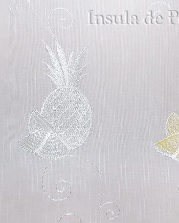 Perdea ivoar cu ananas