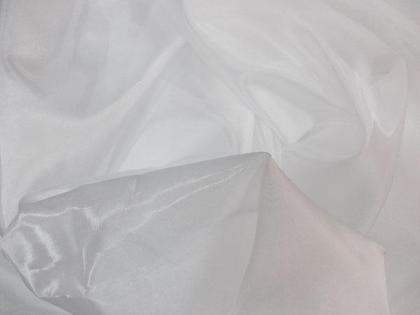 Perdea micro voal alb